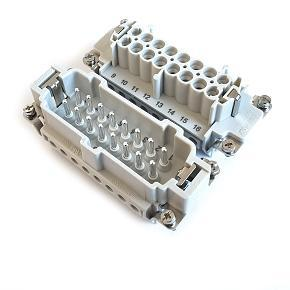 velikost 16B «77x27» 16A  500V/6kV/3, 16P + PE šroubové kontakty