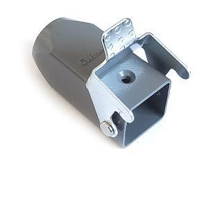 kryt kovový, přímý vývod se zajišťovací pákou 3A 21x2