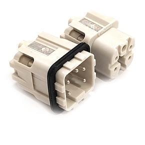 vložka 3A «21x21» 10A (22A) 230/400V/4kV/3, 4P + PE šroubové kontakty