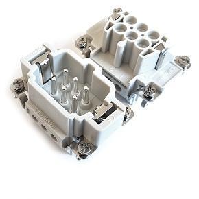 vložky konektoru 6B «44x27» 16A (24A) 500V/6kV/3, 6P + PE šroubové kontakty