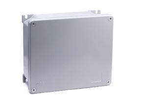 AL8000 - hliníková krabice, IP 66 / IP 67K, -40°C +125°C, IK09