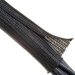 FLEXO F6 - černá, PET, -70˚C + 125˚C , UL/CSA samozhášivost UL94 V0
