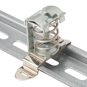 SK - stínící EMI spona pružinová pro přímou montáž nebo na DIN 35mm