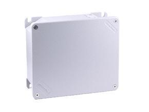 UNI B - hliníková krabice, IP 66 / IP 67K, -40°C +100°C, IK08