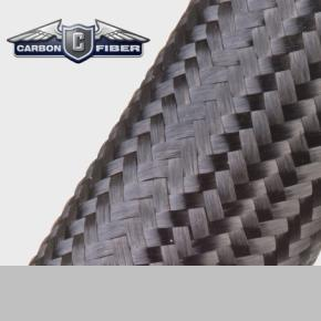 Carbon Fiber - Medium -  Braided Carbon Fibers