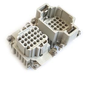 vložky konektoru 6B «44x27», 10A  250/V/4kV/3,  24P + PE krimpovací kontakty