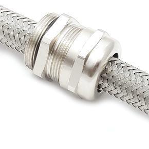KV-EMC - kabelová vývodka pro stíněné kabely se závitem M