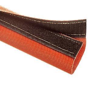 FIW - návlek ze skelného vlákna, potažený silikonem, suchý zip