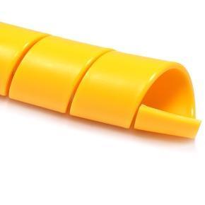 SG-YL, -50°C +120°C, HDPE ochranná spirála žlutá