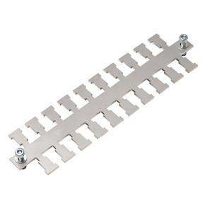KALD - stínící EMC hřebeny pro přímou montáž a lištu DIN 35mm