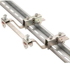 SBSK - držák sběrnice s uchycením na DIN lištu 35mm