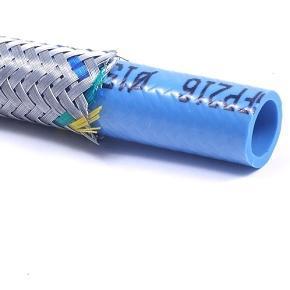 TPE - chránička z PVC s opletem z ocelových drátků