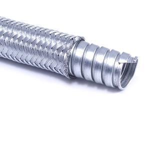 TSBN - vinutá ocelová chránička opletená ocelovým zinkovaným drátem